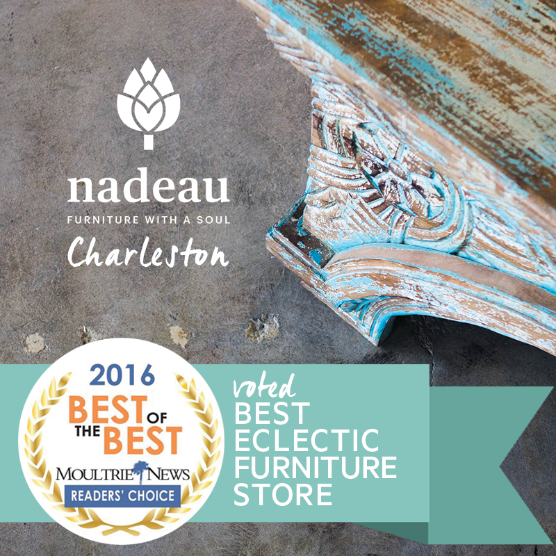 Nadeau Charleston, Best Eclectic Furniture Store