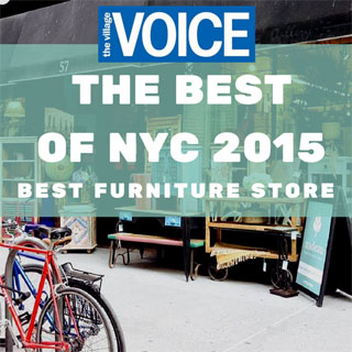 Nadeau wins Best Furniture Store in NY - The Village Voice