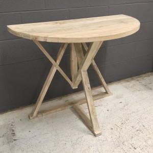 KA802_HALF ROUND TABLE