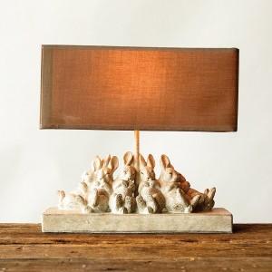 Sleeping Rabbit Table Lamp