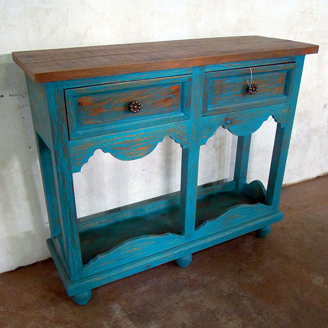 Cottage Style Console Table Nadeau Marietta - Cottage style console table