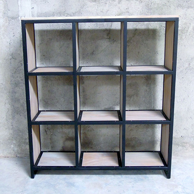 Nine Hole Bookshelf