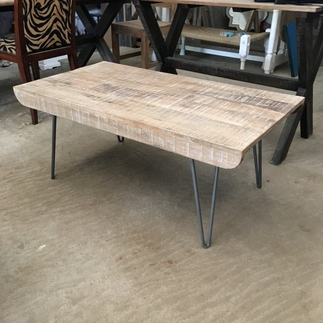 Iron Leg Coffee Table Nadeau Atlanta