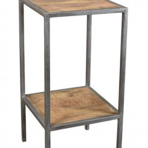 Nightstands side tables archives nadeau marietta for Iron and wood side table