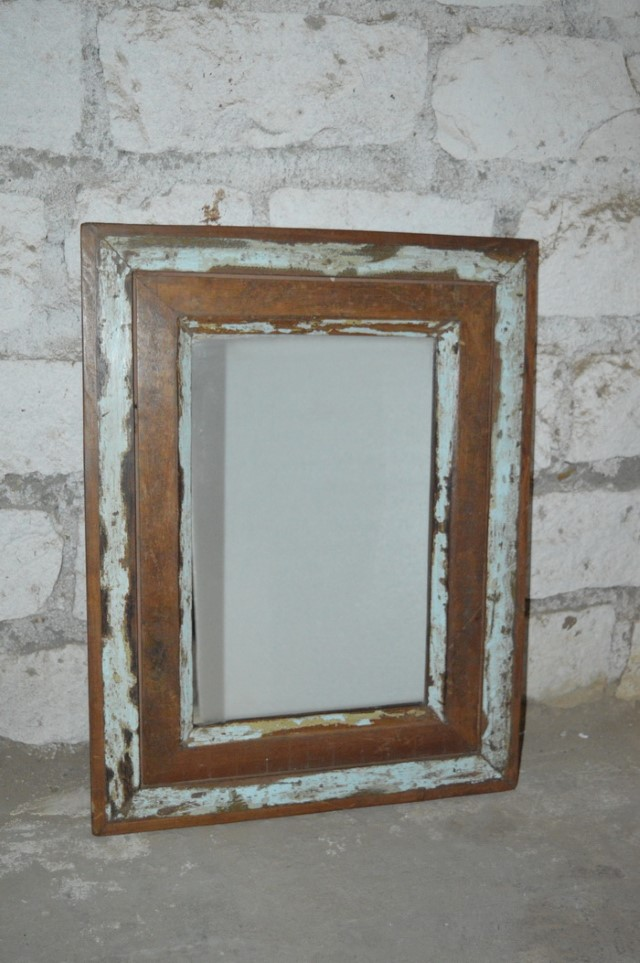 Reclaimed Wood Mirror