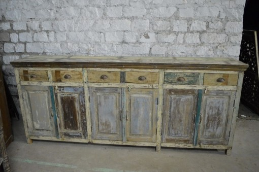 Reclaimed Wood Buffet Nadeau Charleston