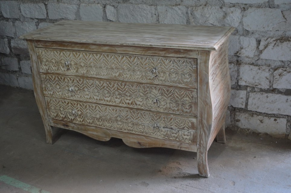 Three Drawer Dresser Nadeau Paramus