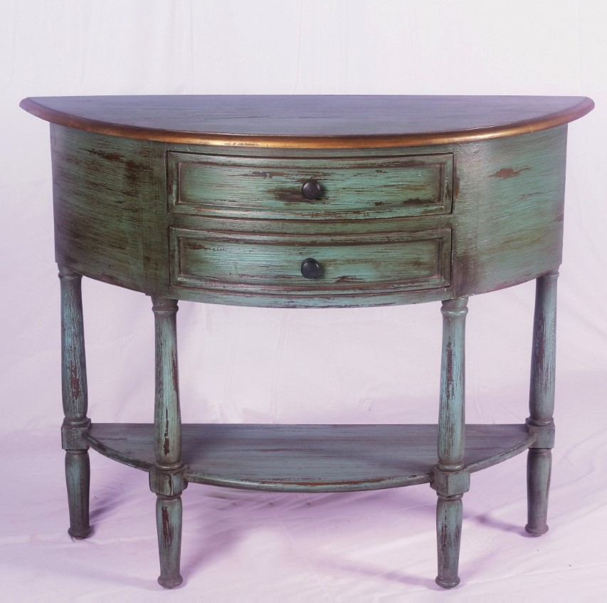 Demi lune table nadeau nashville - Table cuisine demi lune ...
