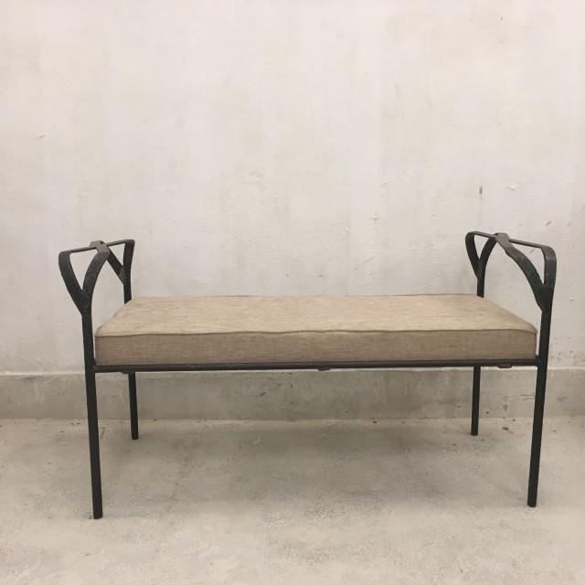 Nadeau Furniture Nashville #32 - Hammered Iron Bench