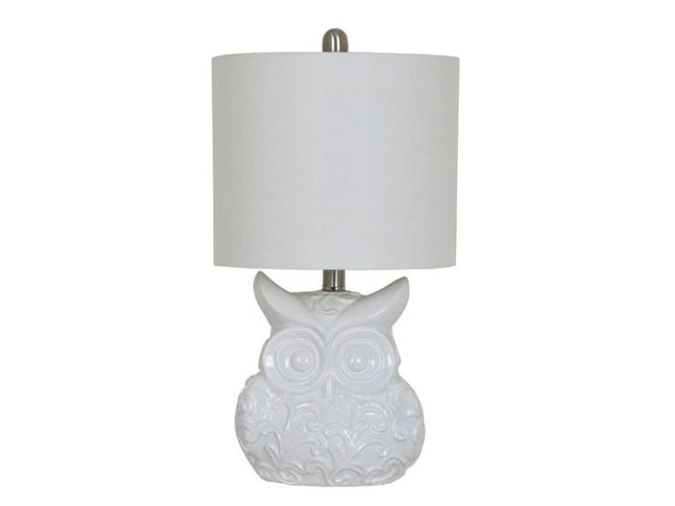 Owl table lamp nadeau marietta owl table lamp aloadofball Image collections