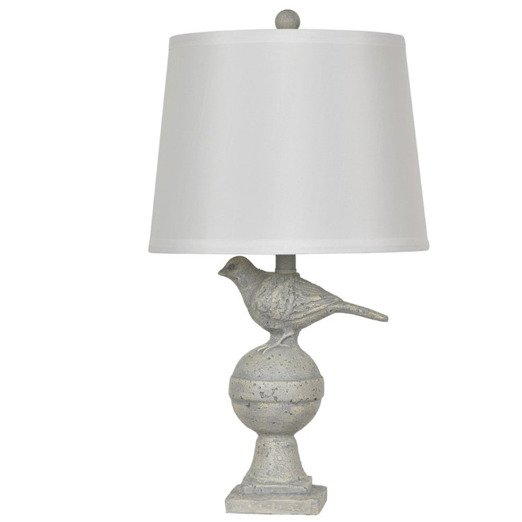 Exceptional Bird Table Lamp