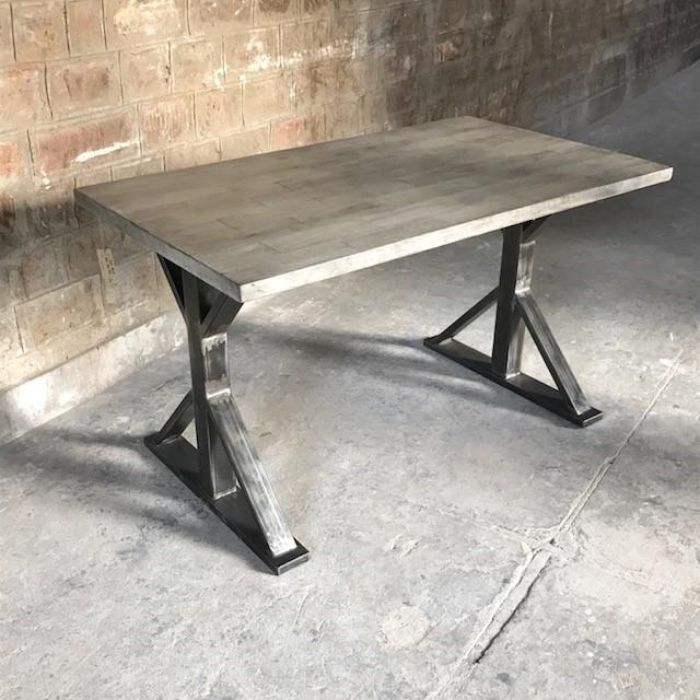 Iron Leg Desk
