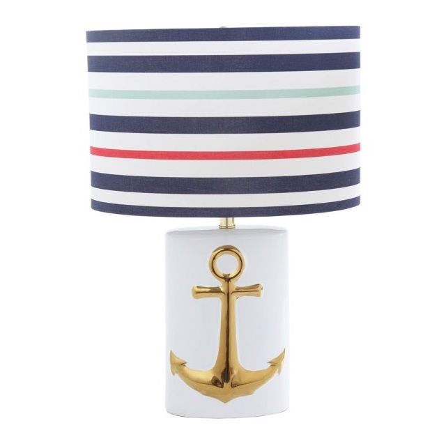 Gold Anchor Table Lamp
