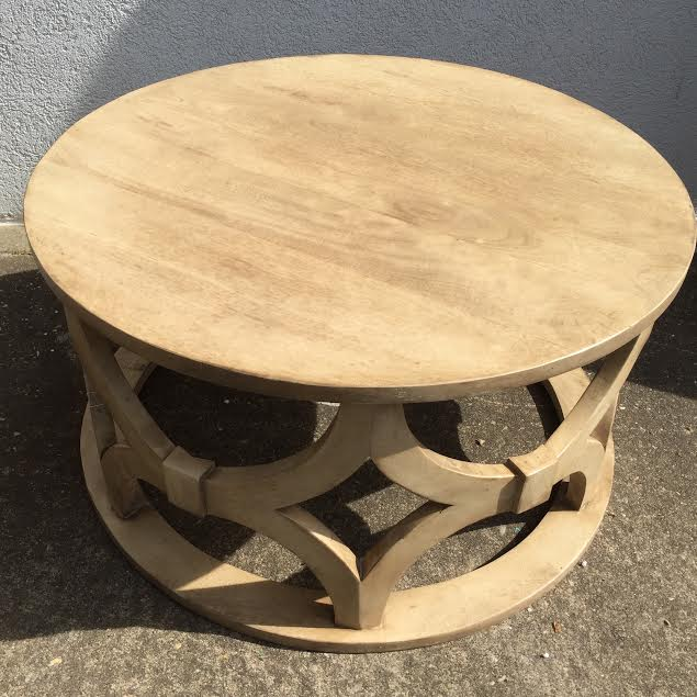 Carved Round Coffee Table Rascalartsnyc: Carved Round Coffee Table