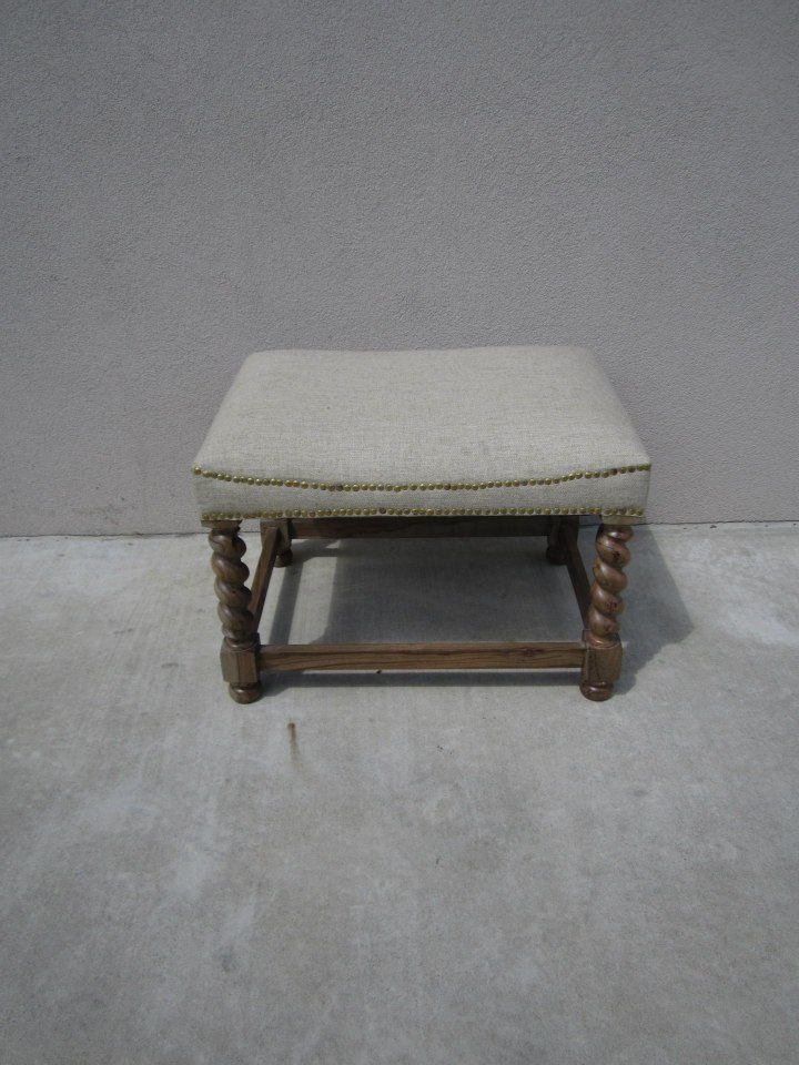 Small Bench With Upholstered Seat Nadeau Alexandria