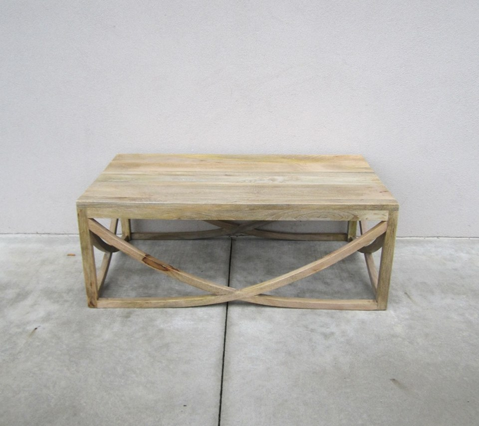 U Shape Cross Coffee Table - Nadeau Alexandria