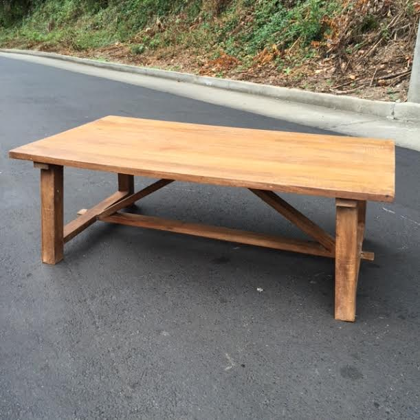 Rustic Coffee Table Nadeau Atlanta