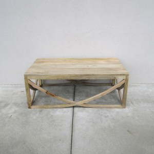 U Shape Cross Coffee Table Nadeau Atlanta