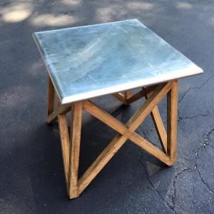 KA753 - Aluminium Clad Side Table -  $143
