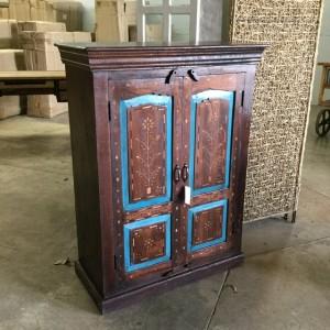 Wood Inlay Cabinet