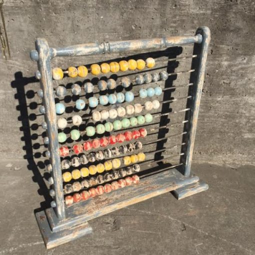 Wooden Abacus on Stand