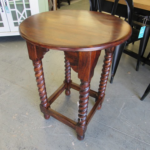 Wooden Carving Stool