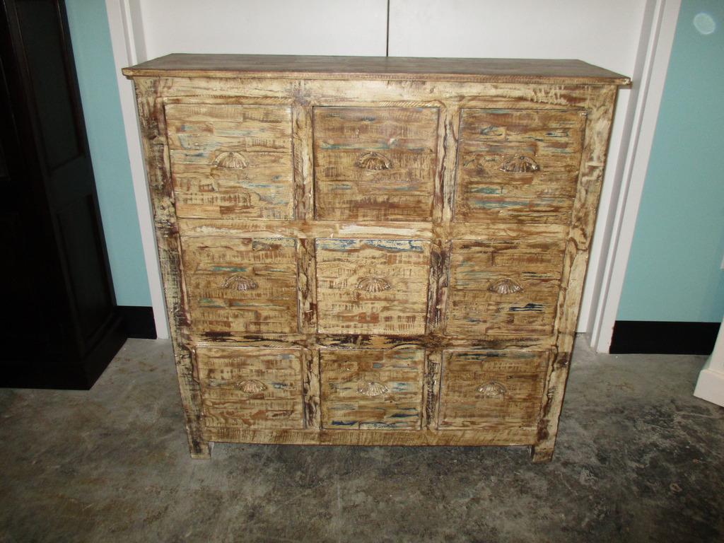 Reclaimed Wood Dresser Nadeau Charleston
