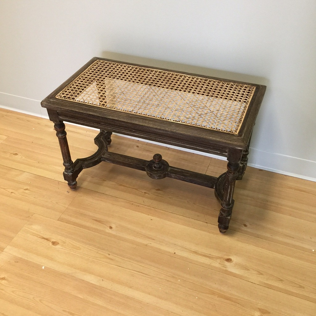 Bench With Cane Seat Nadeau Charleston