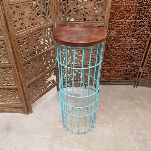 Wire Side Table Tall