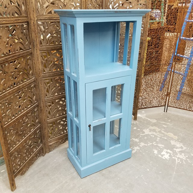 Low Glass Cabinet