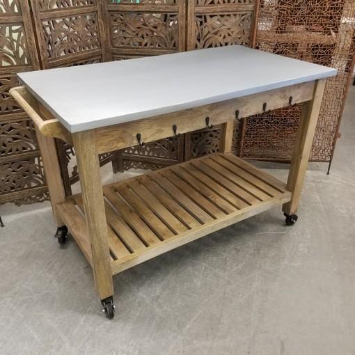 kitchen table on wheels nadeau