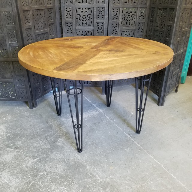 Industrial Round Dining Table Nadeau Charlotte : Ka1035 from www.furniturewithasoul.com size 640 x 640 jpeg 139kB
