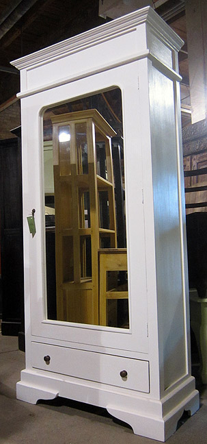 Wardrobe Cabinet with Mirror