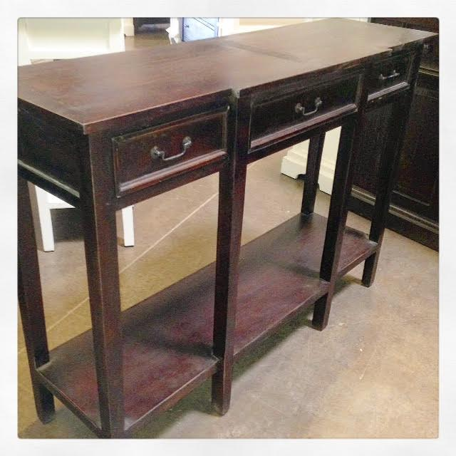 Narrow Console Table Tall Nadeau Dallas