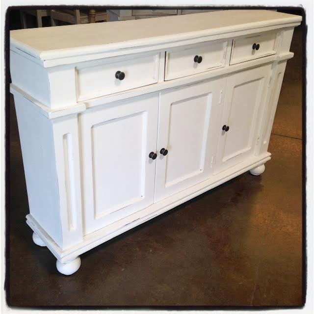 Three Door Narrow Sideboard Nadeau Dallas