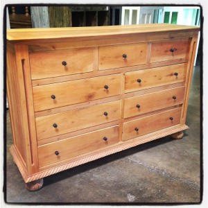 A206 Natural Dresser