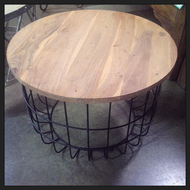 Wire Coffee Table - Nadeau Dallas