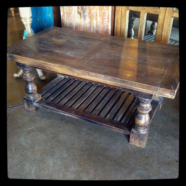 Baluster Coffee Table Nadeau Dallas