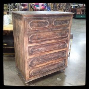 KA713 $674.00 Tall Dresser in Tabocco Finish