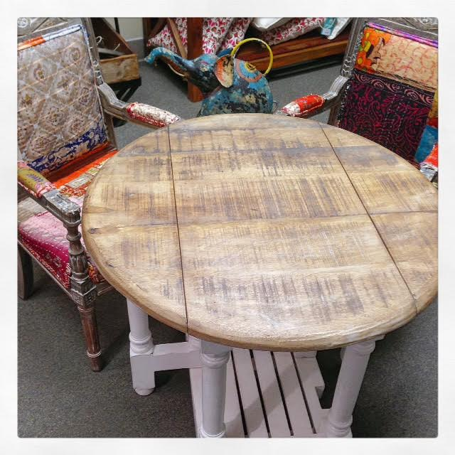 Round Gateleg Table Nadeau Dallas