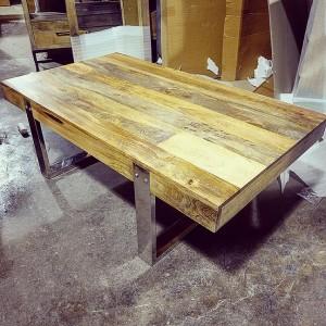 M133 Coffee Table Iron Base