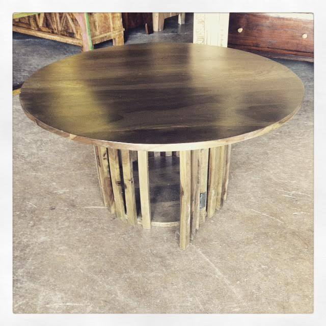 Round Coffee Table Nadeau Dallas