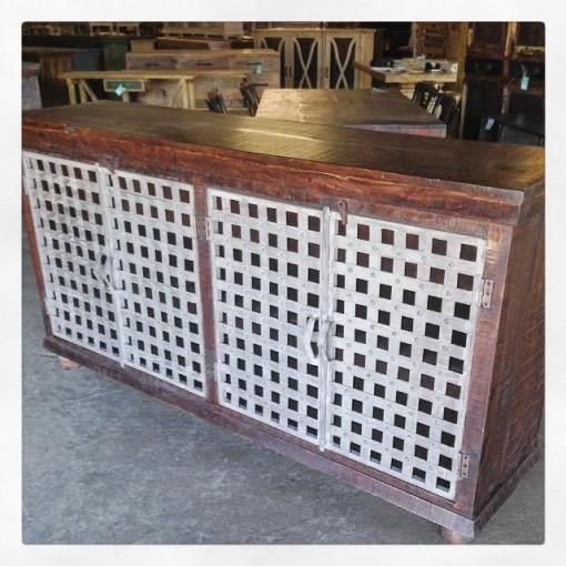 Iron And Wood Buffet ~ Iron and wood buffet nadeau dallas
