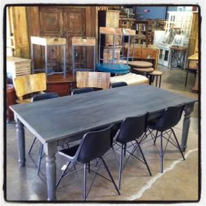 NK394-gray farm table