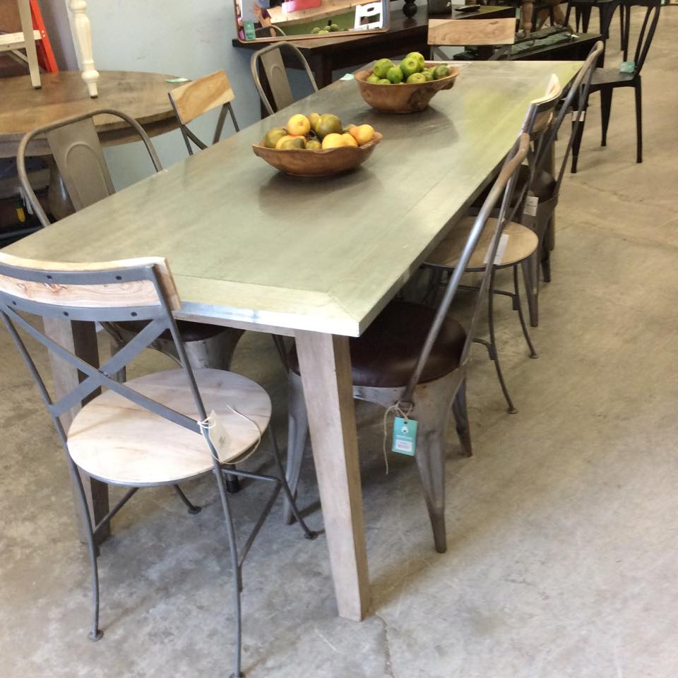 Splay leg dining table nadeau dallas splay leg dining table workwithnaturefo