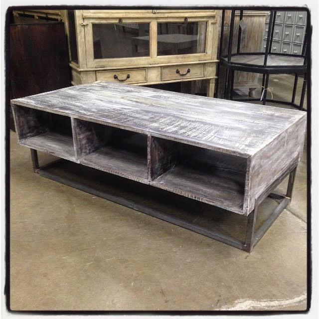Coffee Table Reclaimed Wood Nadeau Dallas
