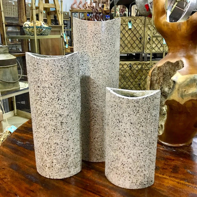 Set Of Three Vases Nadeau Dallas
