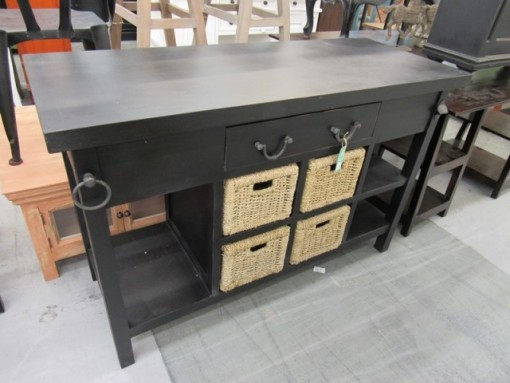 Kitchen island small nadeau houston for Kitchen island houston