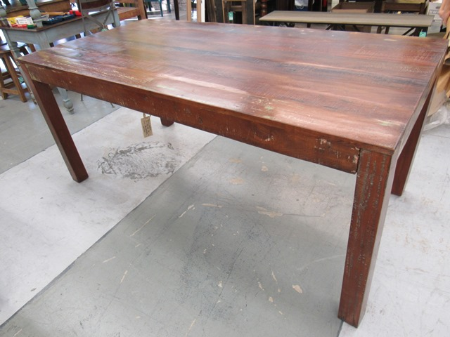 Reclaimed Wood Dining Table - Reclaimed Wood Dining Table - Nadeau Houston