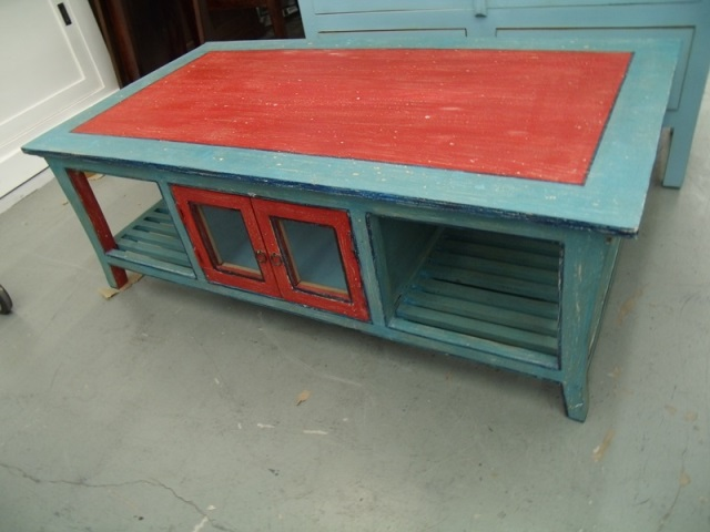 Coffee Table With Door Nadeau Houston